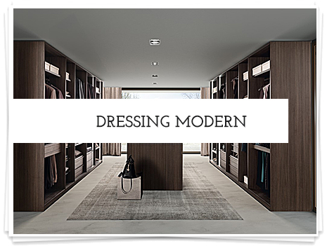 Dressing modern id home concept